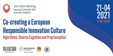 Co-creating a European Responsible Innovation culture tickets