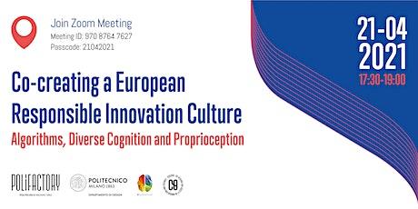 Co-creating a European Responsible Innovation culture entradas