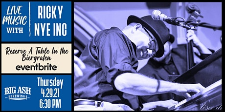 Ricky NYE INC  Live @ The Big Ash Biergarten! tickets