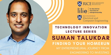 Technology Innovation Lecture Series: Suman Talukdar, AiSprouts VC tickets