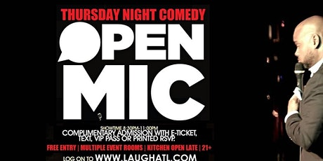 Open Mic Comedy @ Monticello Lounge tickets