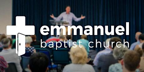 Emmanuel's Sunday Evening Service 18/04/21 tickets
