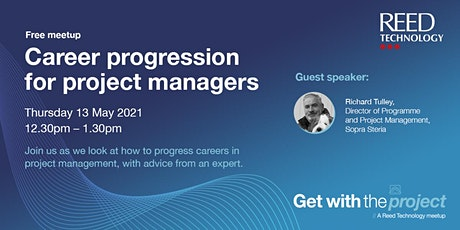 Career progression for project managers Tickets
