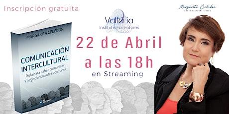 Presentación libro Comunicación Intercultural, Margarita Celedón boletos