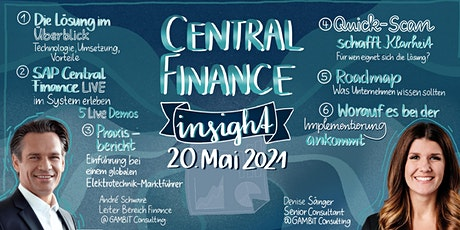 """SAP Central Finance Insight"" – alles was Sie wissen müssen tickets"