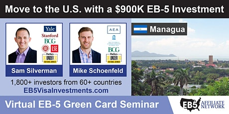 U.S. Green Card Virtual Seminar – Managua, Nicaragua tickets