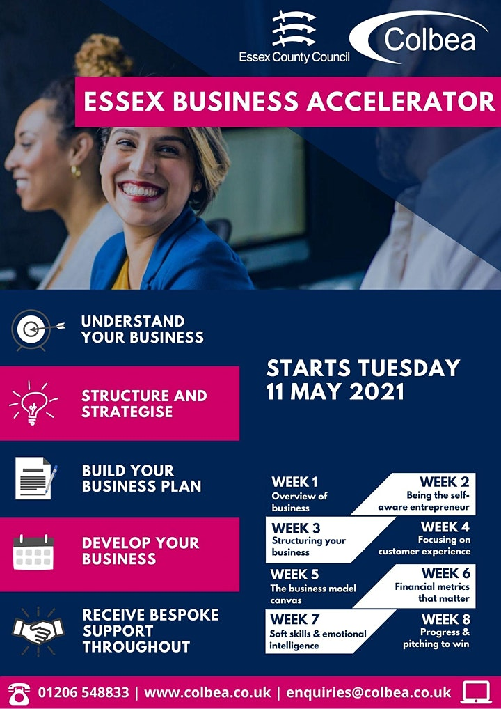 Essex Business Accelerator Programme 2021 image