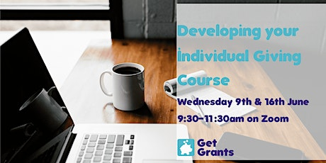 Online Developing your Individual Giving Course tickets