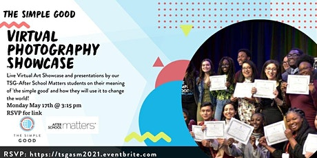 TSG Virtual Photography Youth Showcase with After School Matters tickets