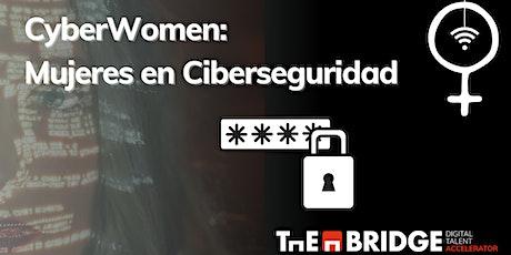 Cyberwomen: Mujeres en Ciberseguridad entradas