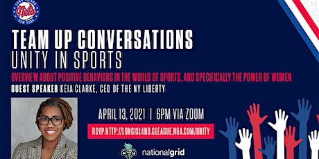 Team Up Conversations: Overview About Positive Behaviors In Sports tickets