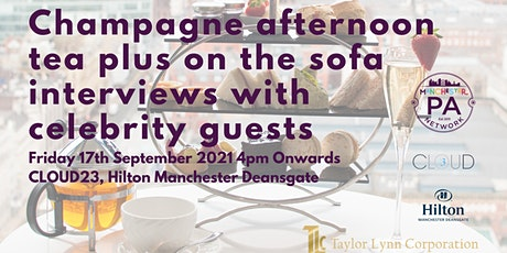 Champagne Afternoon Tea at Cloud 23 tickets