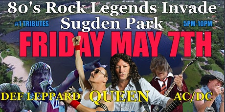 Tamiami Ford Legends Concert  5-7-21 DEF LEPPARD, AC/DC  & QUEEN tickets