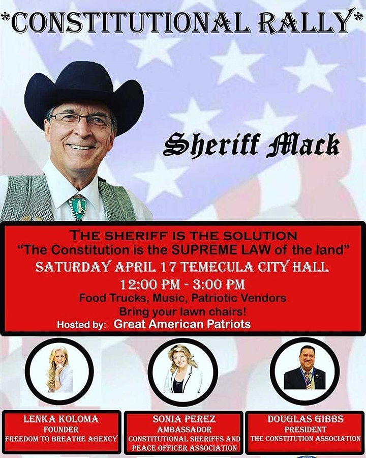 Dinner with Sheriff Mack image