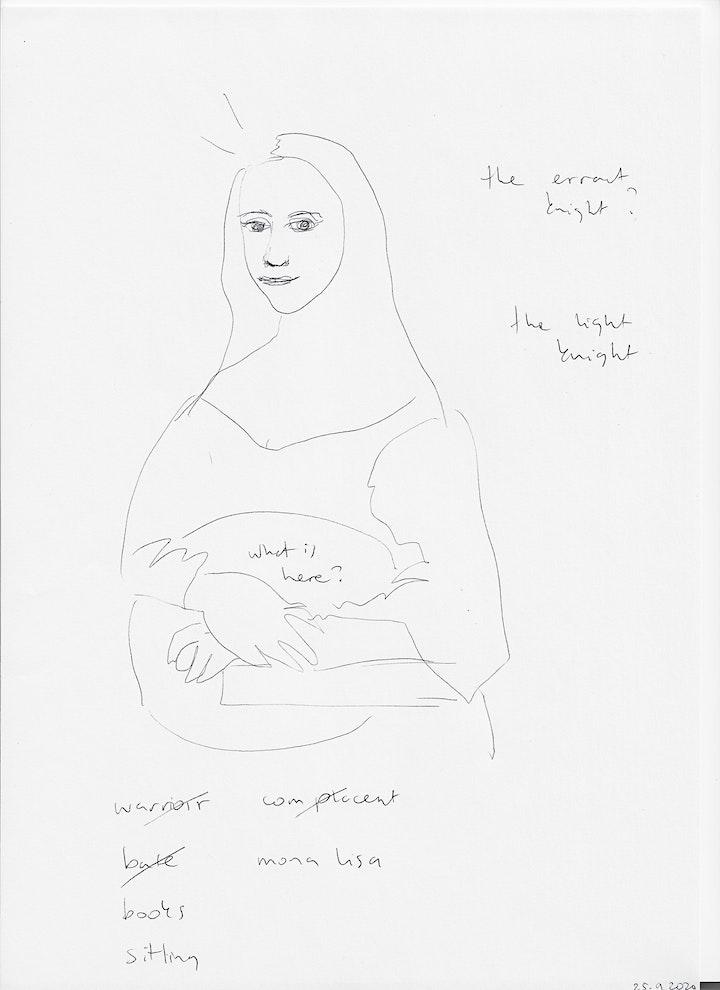 Afbeelding van VIP Art Angels receive their personal drawing