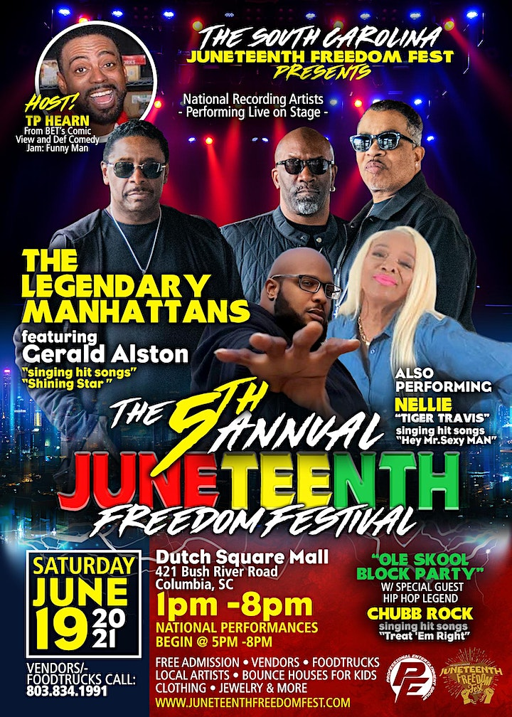 The 5th Annual Juneteenth Freedom Festival image
