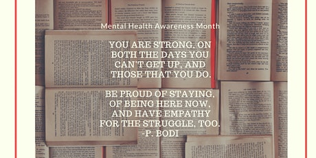 Mental Health Awareness Month: Poetry and Panel Discussion tickets