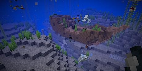 Vatertags-Special: Papa-Kind-Workshop Minecraft - magische Unterwasserwelt Tickets