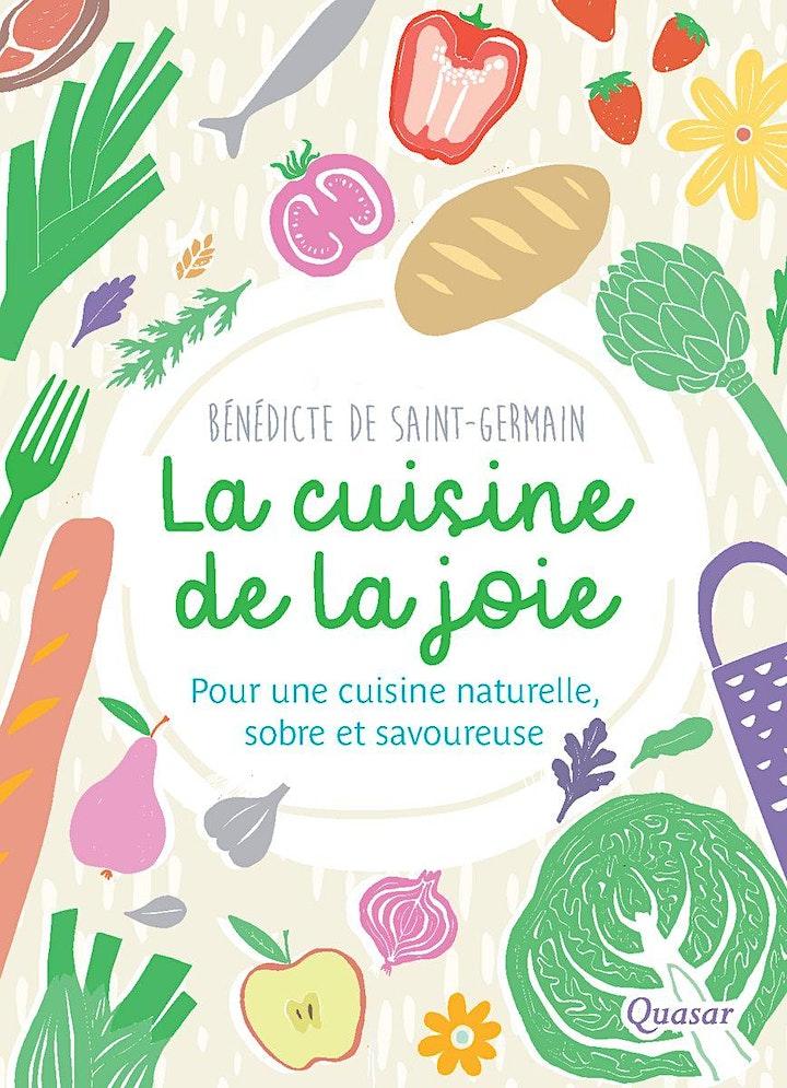"""Image pour Conférence """"La Cuisine de la Joie"""" avec Bénédicte de Saint-Germain"""