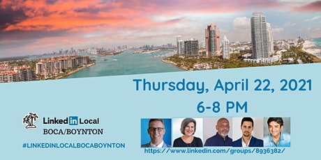 LinkedIn Local Boca/Boynton- Productivity Hacks & Tech Tips tickets