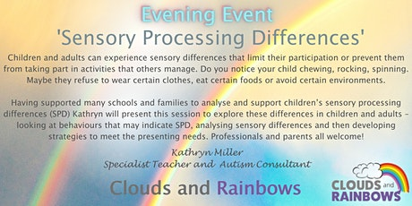 Sensory Processing Differences - Evening Course tickets