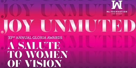 33rd Annual Gloria Awards: A Salute to Women of Vision tickets