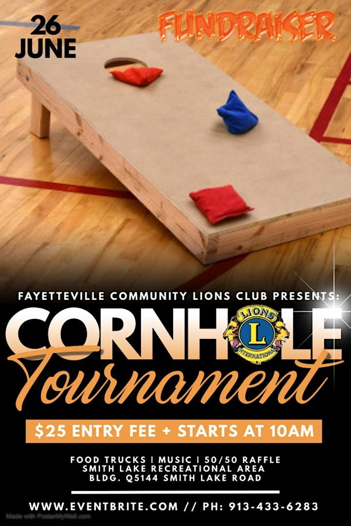Charity Cornhole  Tournament image