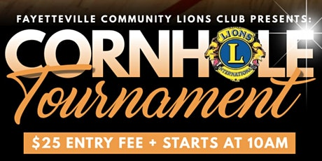 Charity Cornhole  Tournament tickets