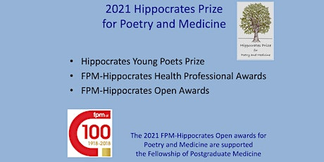 Commended Health Professional Poets Readings in 2021 FPM-Hippocrates Prize tickets