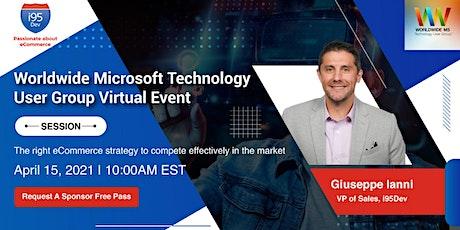 Worldwide Microsoft Technology User Group Virtual Event tickets