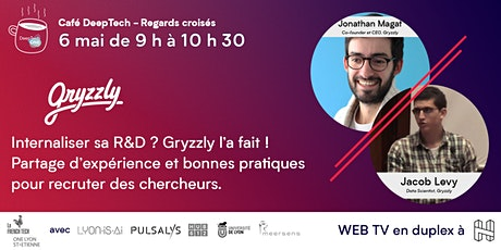 Café DeepTech - Gryzzly, chercheur rencontre startup tickets