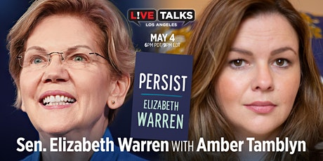 Senator Elizabeth Warren with Amber Tamblyn tickets