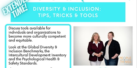 Diversity & Inclusion: Tips, Tricks & Tools tickets
