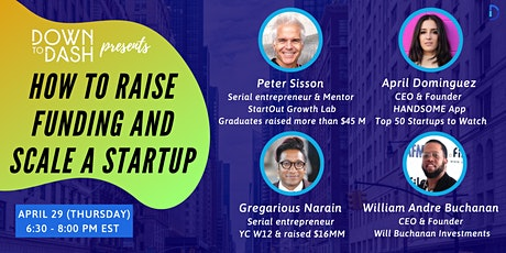 How to Raise Funding and Scale a Startup tickets
