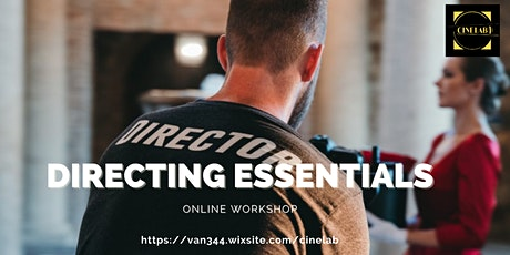 Workshop: Directing essentials tickets