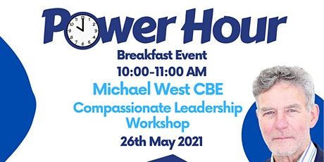 IHSCM POWER HOUR: Compassionate Leadership Workshop Event tickets