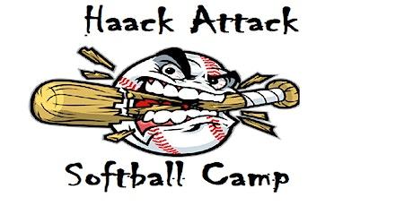 Copy of Haack Attack All Skills Softball Camp tickets
