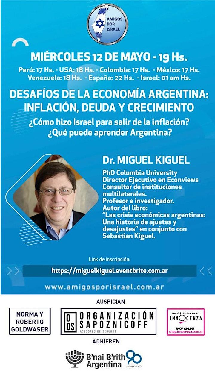 Imagen de DESAFIOS DE LA ECONOMIA ARGENTINA: INFLACIÓN, DEUDA Y CRECIMIENTO