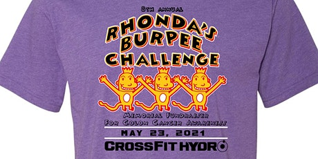 8th Annual Rhonda's Team Burpee Challenge for Colon Cancer tickets