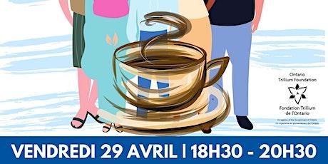 Café franco: Ensemble contre l'intimidation.Atelier pour jeunes et familles billets