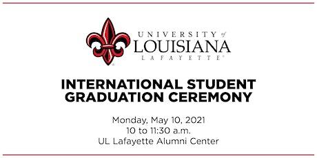 International Student Graduation Ceremony tickets