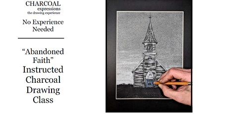"""Fundraising Charcoal Drawing Event """"Abandoned Faith"""" Custer tickets"""