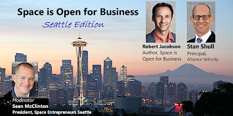 Space is Open for Business: Seattle Edition tickets