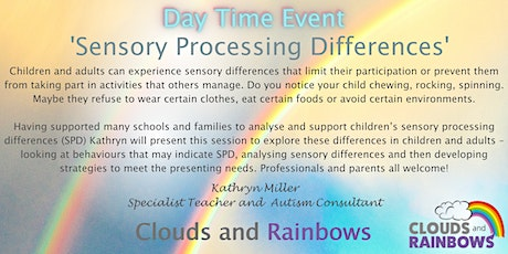 Sensory Processing Differences - Day Time Course tickets