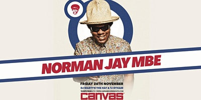 Canvas Presents Norman Jay MBE