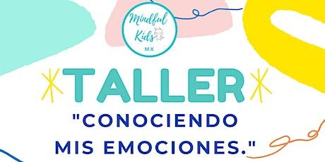 """Taller """"Conociendo mis emociones"""" - Para niños boletos"""