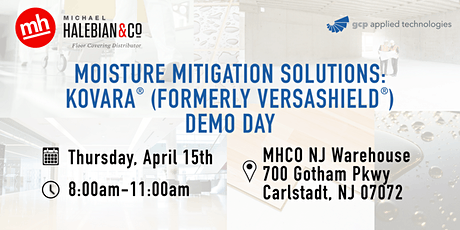 Moisture Mitigation Solutions: Kovara (Formerly Versashield) Demo Day tickets