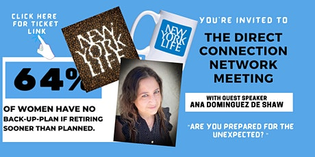 The Direct Connection Network Zoom Meeting with Ana Dominguez de Shaw biglietti