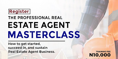 The Professional Real Estate Agent Masterclass tickets