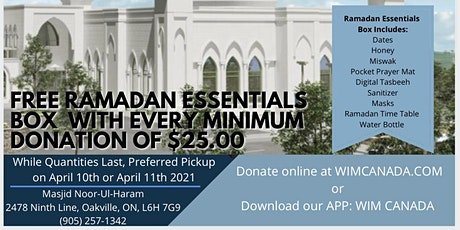 Ramadan 2021 Fundraiser (Minimum $25.00 Donation) tickets